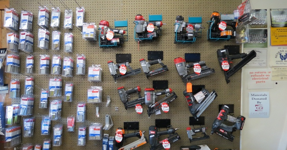 Air Nailers, Staplers, & Fasteners